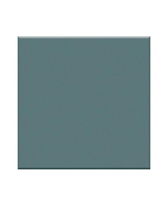 Mosaique turquoise mat salle de bain sol et mur cuisine 5X5 cm sur trame VO turchese
