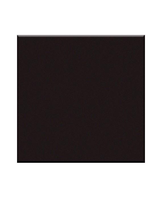 Mosaique noir cuisine sol et mur salle de bain 5X5 cm sur trame VO nero