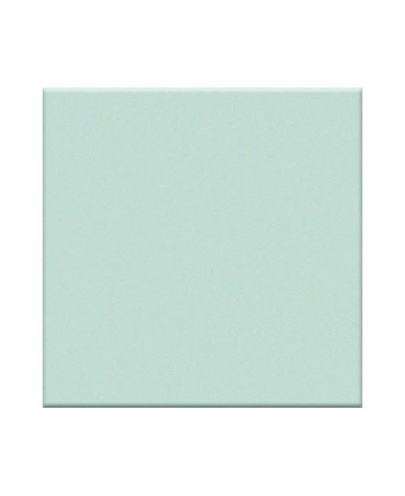 Mosaique brillante bleu lagune cuisine mur et sol salle de bain 5X5cm VO laguna