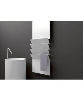 Sèche-serviette radiateur électrique design A FlapsB 171x35cm de couleur