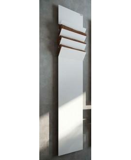 sèche-serviette radiateur électrique design contemporain salle de bain AntflapsA 201x35cm de couleur