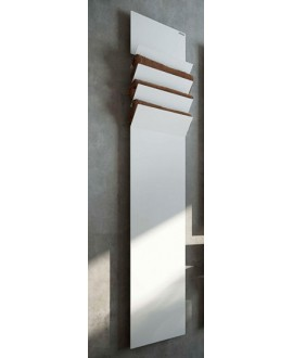 sèche-serviette radiateur électrique design salle de bain AntflapsA 201x35cm de couleur