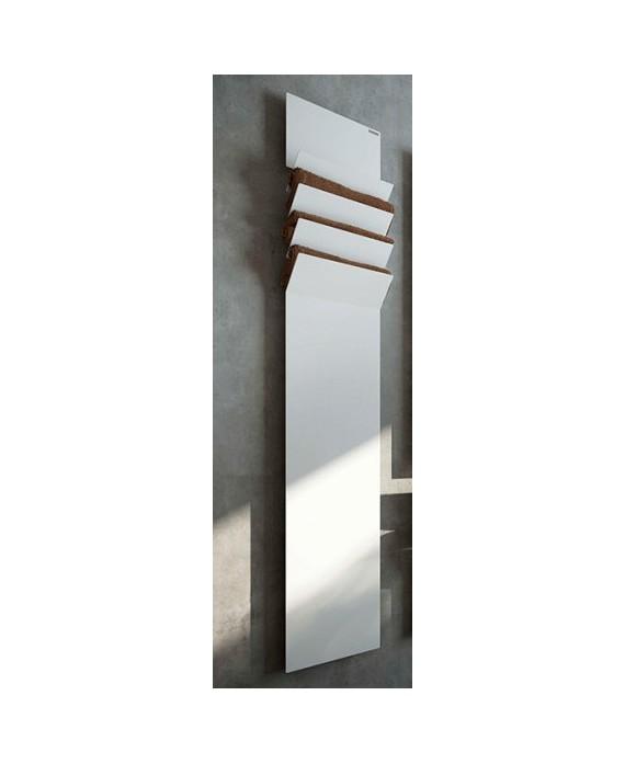 sèche-serviette électrique FlapsA 201x35cm blanc brillant