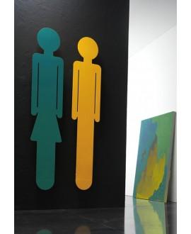 Sèche-serviette radiateur électrique design contemporain salle de bain Antemma femme vert foncé mat 172x34cm