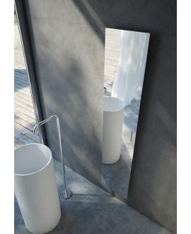 sèche-serviette électrique total miroir 171x35cm