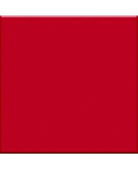 carrelage brillant rosso 5X5 cm