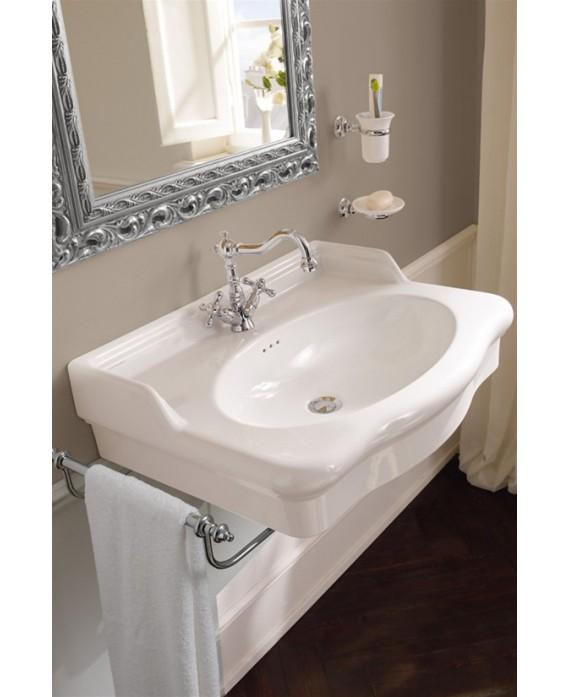 Vasque  en céramique émaillée scacastellana L:70.5cm P:53cm  H:20 cm