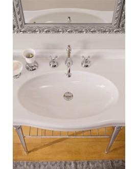 Vasque en céramique émaillée scacastellana L:91cm P:53,5cm H:19.5cm