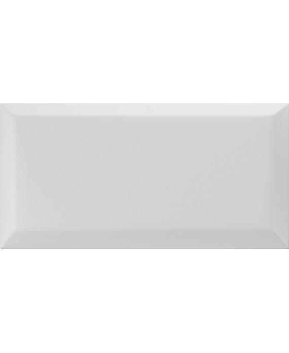 carrelage bisauté métro mat argento 10X20 cm