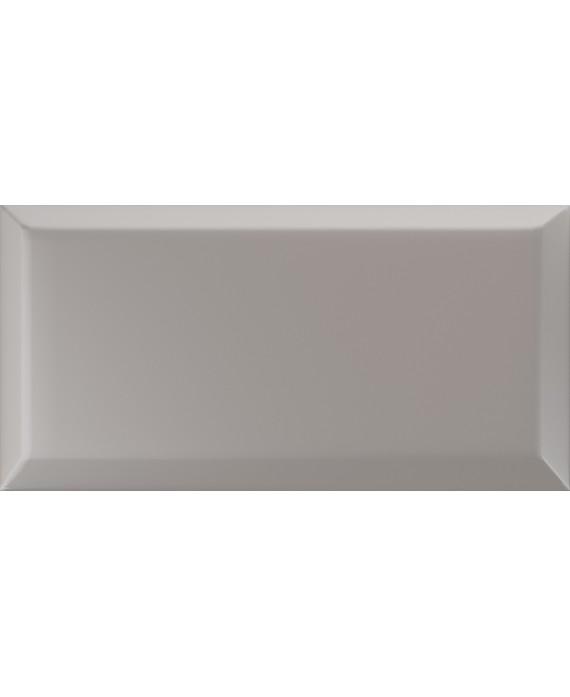 carrelage bisauté métro mat grigio 10x20cm