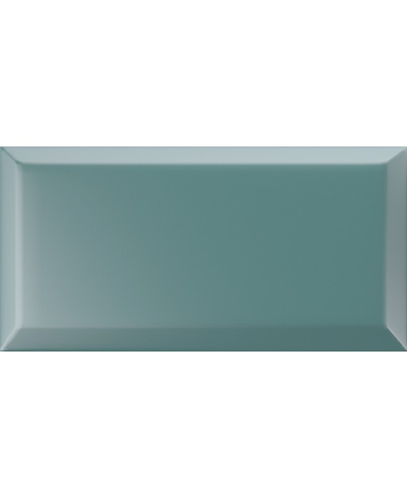 carrelage bisauté mat turchese 10X20 cm