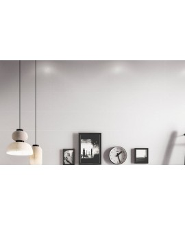 Carrelage moderne mural santadecorwall blanc 25x75cm