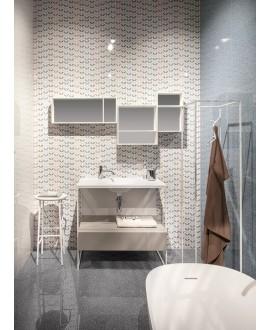 Carrelage salle de bain moderne mural santagarden 25x75cm