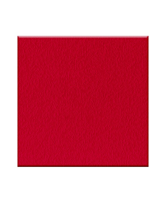 Carrelage rouge antidérapant plage marche piscine terrasse 20x20cm, R11 A+B+C VO IG rosso
