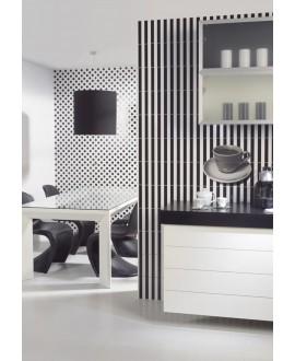 Carrelage moderne mural décor V trentino 20x50cm pour la crédence