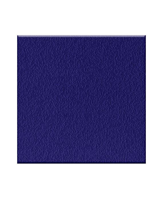 Mosaique antidérapant bleu cobalt sol douche et salle de bain 5x5cm sur trame, R11 A+B+C VO IG cobalto