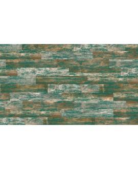 Carrelage V faro vert imitation parquet 14.4x89.3cm