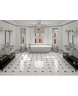 carrelage octogonaux avec cabochon sas marchart. Black Bedroom Furniture Sets. Home Design Ideas