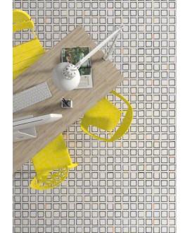 Carrelage imitation carreaux de ciment dessin géométrique V Hamar 20x20 cm