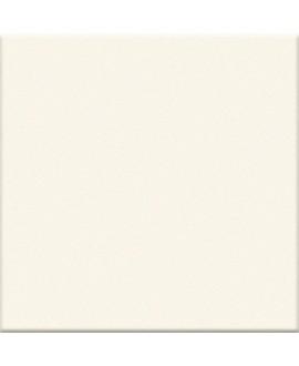 Carrelage ivoire mat salle de bain cuisine sol et mur 10X10 cm grès cérame VO latte interni