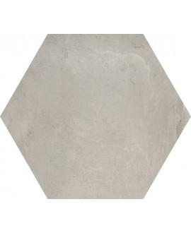 Carrelage hexagone domus grigio 34.5x40cm