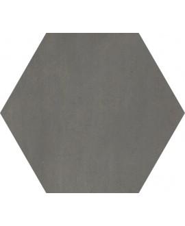 carrelage hexagone domus nero 34.5x40cm