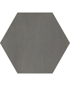 carrelage hexagone domus nero effet carreau ciment 34.5x40cm