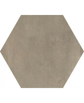 Carrelage hexagone domus noce effet carreau ciment 34.5x40cm