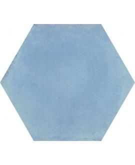 Carrelage hexagone vietri bleu 34.5x40cm