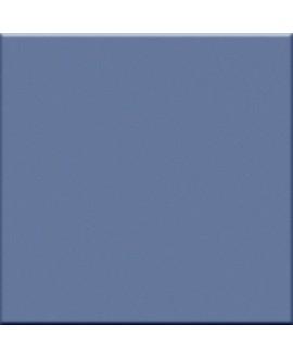 Carrelage bleu petrole mat de couleur cuisine salle de bain mur et sol 10X10cm grès cérame émaillé VO blu avio