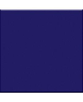Carrelage cobalte mat de couleur cuisine salle de bain mur et sol 10X10cm grès cérame émaillé VO cobalto
