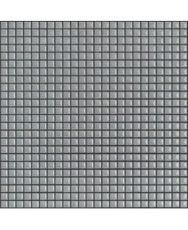 Mosaique brillant apdiva light grey 1.2x1.2cm sur trame 30x30cm