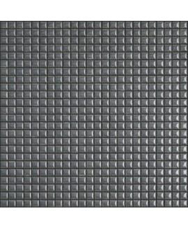 Mosaique brillant apdiva dark grey 1.2x1.2cm sur trame 30x30cm