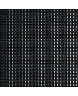 Mosaique brillant apdiva black 1.2x1.2cm sur trame 30x30cm