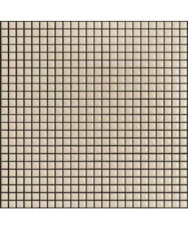 Mosaique brillant apdiva ivoire 1.2x1.2cm sur trame 30x30cm