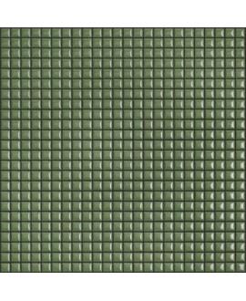 Mosaique brillant apdiva olive 1.2x1.2cm sur trame 30x30cm