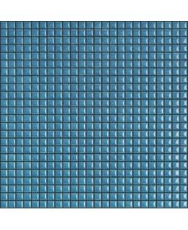 Mosaique brillant apdiva turquoise 1.2x1.2cm sur trame 30x30cm