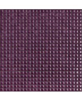 Mosaique brillant apdiva purple 1.2x1.2cm sur trame 30x30cm