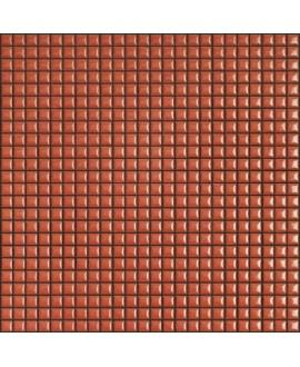 Mosaique brillant apdiva coral 1.2x1.2cm sur trame 30x30cm