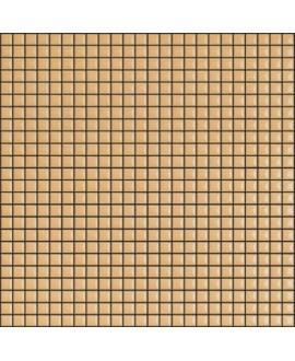 Mosaique brillant apdiva orangeyellow 1.2x1.2cm sur trame 30x30cm