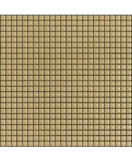 Mosaique brillant apdiva moutarde 1.2x1.2cm sur trame 30x30cm