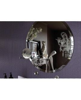 Mosaique brillant apdiva violet 1.2x1.2cm sur trame 30x30cm