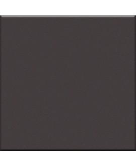 Carrelage brillant gris foncé salle de bain cuisine sol et mur 10X10cm épaisseur 7mm VO ferro