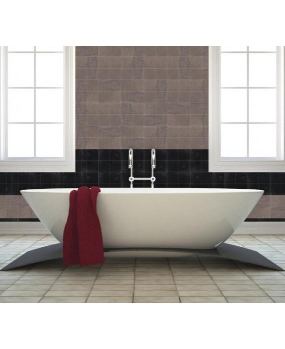 Zellige cuisine salle de bain carrelage en terre cuite D zellige grege 10x10x1,1cm