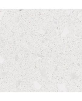 Carrelage imitation terrazzo et granito fond blanc mat, 80x80cm rectifié, arcamiscella nacar antidérapant R10