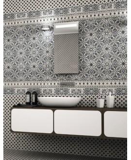 Carrelage imitation marbre satiné 44x44cm, décor realorly