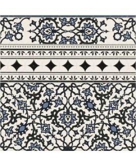 Carrelage imitation marbre 44x44cm, realorly décor cenefa