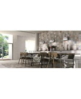 Carrelage effet carreau ciment patchwork 44x44cm realprovenza décor