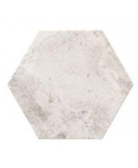 Carrelage hexagone realblur blanc 28.5x33cm