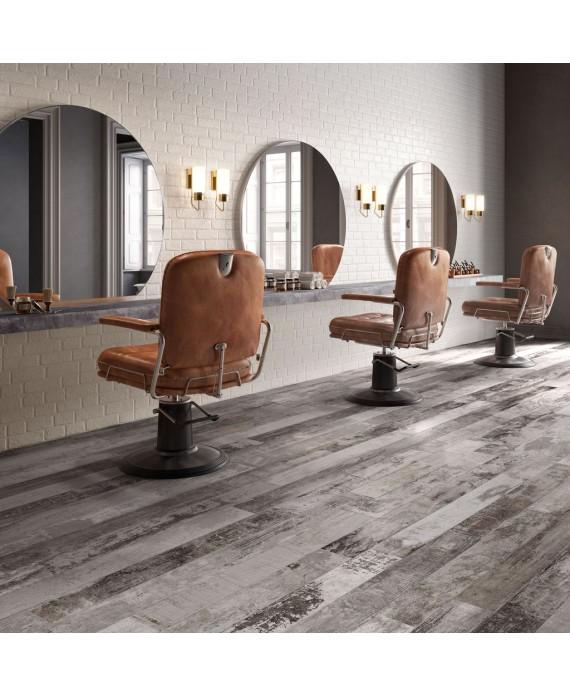 Carrelage imitation parquet moderne magasin 15x120cm rectifié, santacolor bone